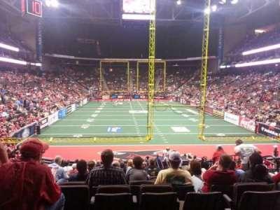 Jacksonville Veterans Memorial Arena, vak: 120, rij: S, stoel: 14
