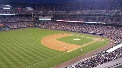 Coors Field, vak: L345, rij: 1, stoel: 5