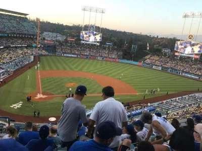 Dodger Stadium, vak: 8Rs, rij: G, stoel: 3