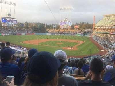 Dodger Stadium, vak: 111LG, rij: L, stoel: 4