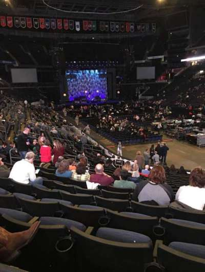 Nationwide Arena, vak: 111, rij: U, stoel: 8