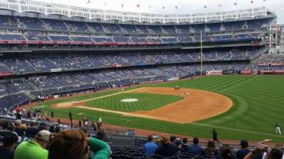 Yankee Stadium, vak: 213, rij: 12, stoel: 9
