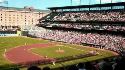 Oriole Park at Camden Yards, vak: 256, rij: 8, stoel: 9