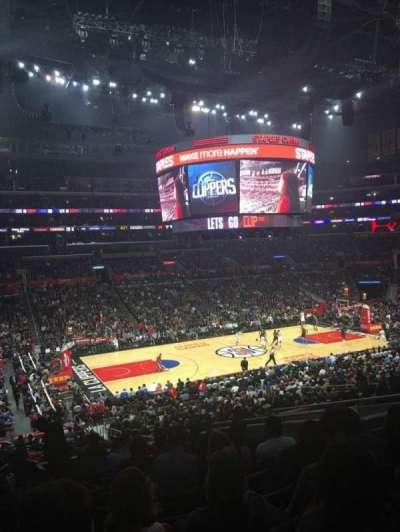 Staples Center, vak: PR7, rij: 12, stoel: 9