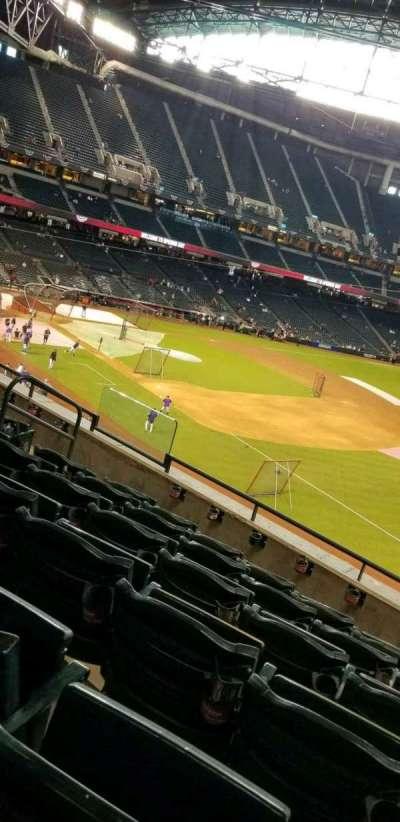 Chase Field, vak: 203, rij: 6, stoel: 11
