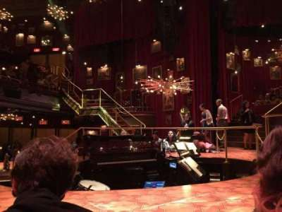 Imperial Theatre, vak: Stage Left Sunken Table, rij: TK, stoel: 1