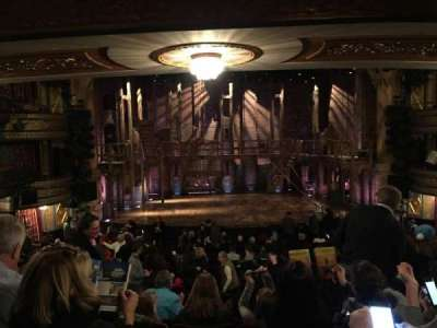 Richard Rodgers Theatre, vak: Orchestra Center, rij: S, stoel: 110