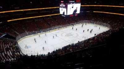 Honda Center, vak: 416, rij: n, stoel: 4