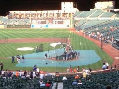 Oriole Park at Camden Yards, vak: 45, rij: 12, stoel: 9