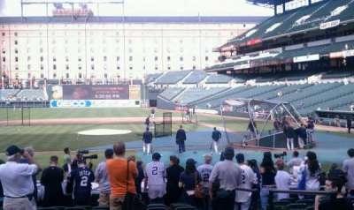 Oriole Park at Camden Yards, vak: 50, rij: 11, stoel: 2