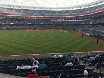Yankee Stadium, vak: 235, rij: 2, stoel: 1