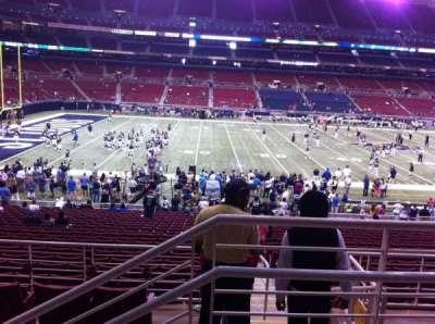 The Dome at America's Center, vak: 116, rij: CC, stoel: 1