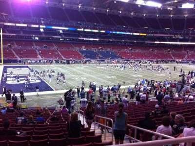 The Dome at America's Center, vak: 120, rij: U, stoel: 2