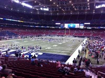 The Dome at America's Center, vak: 125, rij: U, stoel: 2