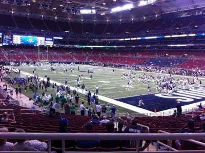 The Dome at America's Center, vak: 134, rij: U, stoel: 2