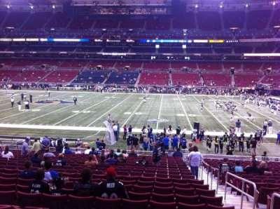 The Dome at America's Center, vak: 139, rij: U, stoel: 2