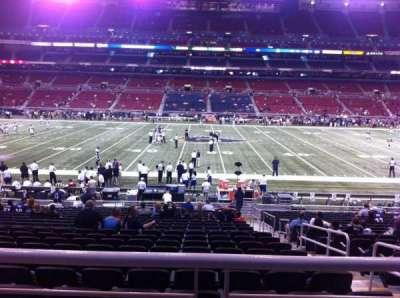 The Dome at America's Center, vak: 141, rij: U, stoel: 2