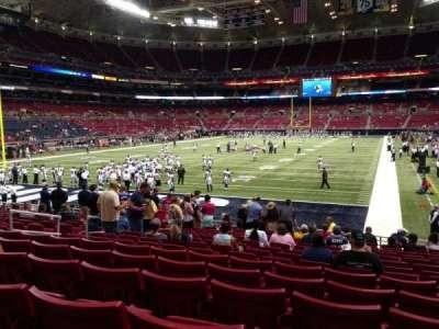 The Dome at America's Center, vak: 152, rij: Q, stoel: 11