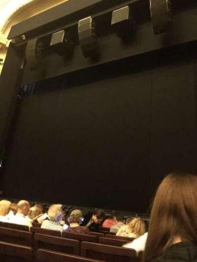 Hudson Theatre, vak: Orchestra, rij: H, stoel: 121