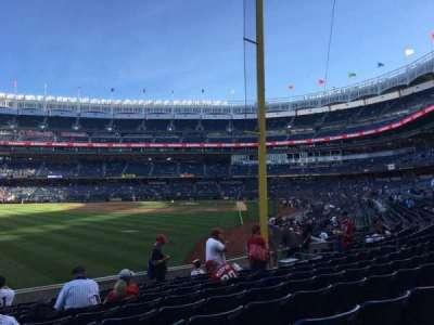 Yankee Stadium, vak: 132, rij: 10, stoel: 20