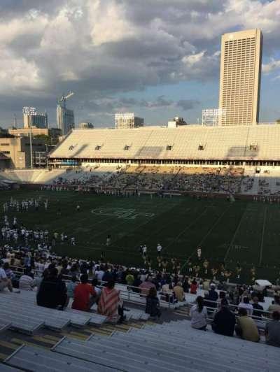 Bobby Dodd Stadium, vak: 103, rij: 44, stoel: 19