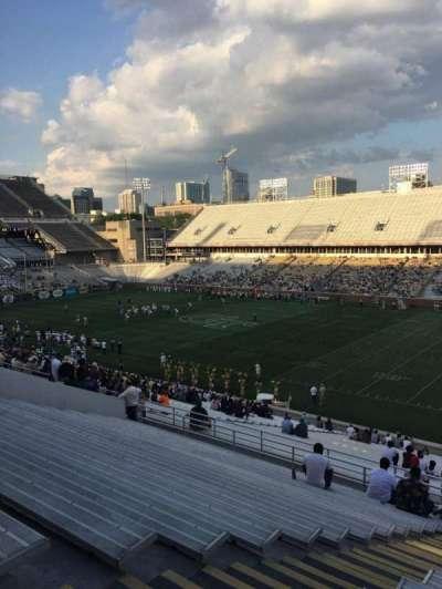 Bobby Dodd Stadium, vak: 101, rij: 44, stoel: 18
