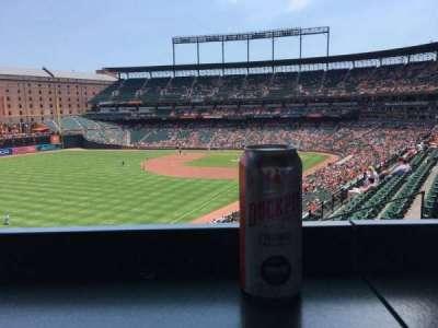 Oriole Park at Camden Yards, vak: 270, rij: A, stoel: 11