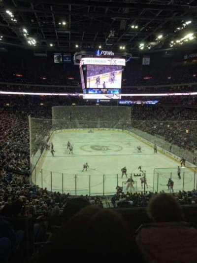 Nationwide Arena, vak: 121, rij: KK, stoel: 2