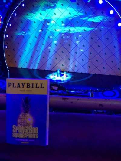 Palace Theatre (Broadway), vak: Mezz, rij: AA, stoel: 113