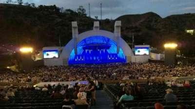 Hollywood Bowl, vak: H, rij: 21, stoel: 117