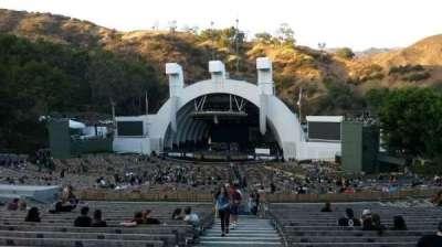 Hollywood Bowl, vak: F1, rij: 22, stoel: 43