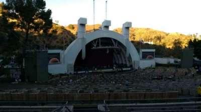 Hollywood Bowl, vak: K1, rij: 10, stoel: 2