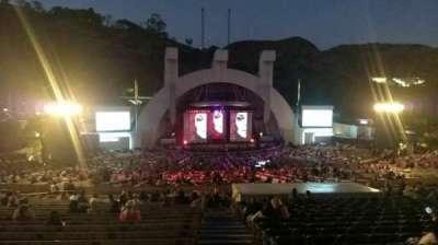 Hollywood Bowl, vak: J1, rij: 22, stoel: 1