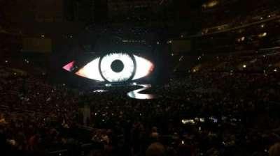 Staples Center, vak: 209, rij: 4, stoel: 1