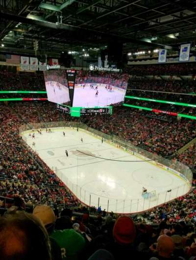 Prudential Center, vak: 117, rij: 10, stoel: 11