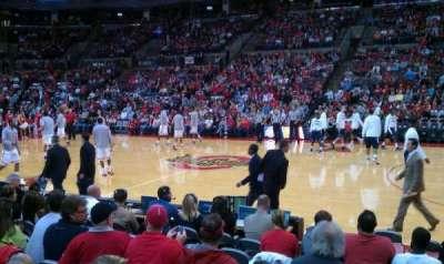 Value City Arena, vak: 105, rij: G, stoel: 9