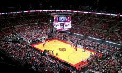 Value City Arena, vak: 317, rij: S, stoel: 18