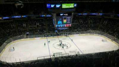 SAP Center at San Jose, vak: 216, rij: 17, stoel: 6