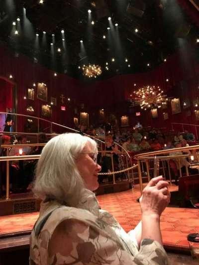 Imperial Theatre, vak: STG RT SUNKN TABLE, rij: TS, stoel: 3