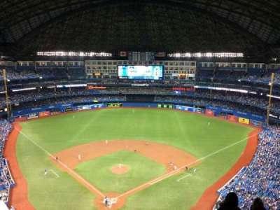 Rogers Centre, vak: 524, rij: 22, stoel: 10