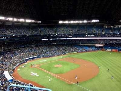 Rogers Centre, vak: 514R, rij: 3, stoel: 2