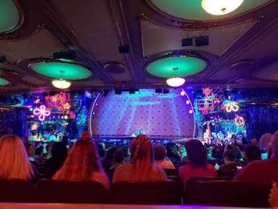 Palace Theatre (Broadway), vak: Orchestra, rij: Row z, stoel: 118