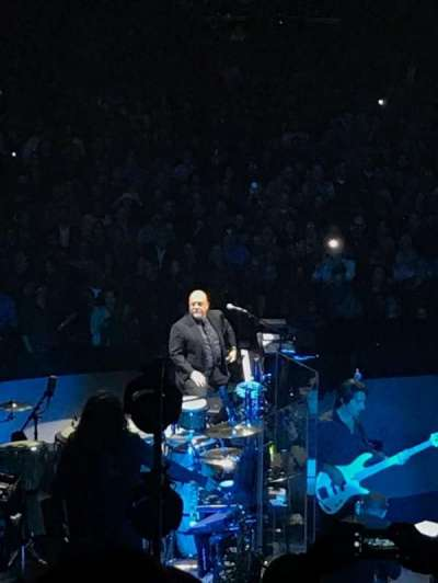 Madison Square Garden, vak: 112, rij: 16, stoel: 8