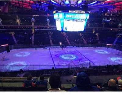 Madison Square Garden, vak: 223, rij: 7, stoel: 7