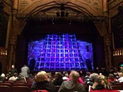 5th Avenue Theatre, vak: Lower Center, rij: P, stoel: 106