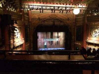 5th Avenue Theatre, vak: Upper Left, rij: K, stoel: 9
