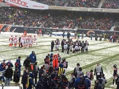 Soldier Field, vak: 138, rij: 13, stoel: 9