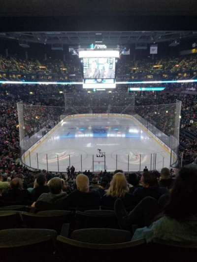 Nationwide Arena, vak: 120, rij: MM, stoel: 10