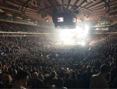 Madison Square Garden, vak: 103, rij: 20, stoel: 20