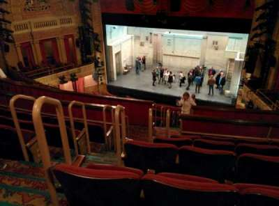 Ethel Barrymore Theatre vak Rear Mezzanine R